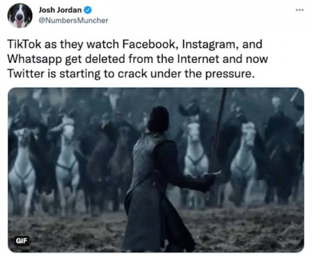 Facebook And Instagram Down Humor (41 pics)