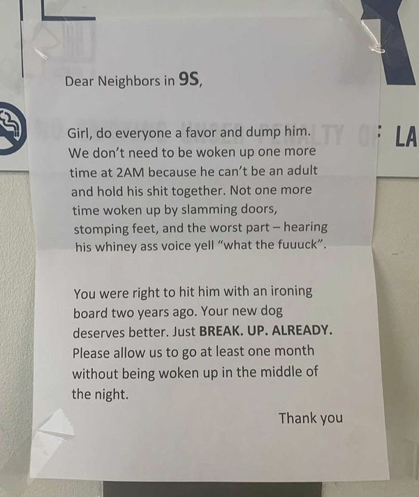 Notes To Neighbors (29 pics)