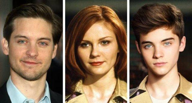 Potential Kids Of Famous Fictional Couples (16 pics)