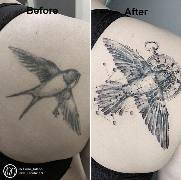 Bad Tattoos Get The New Life (30 pics)
