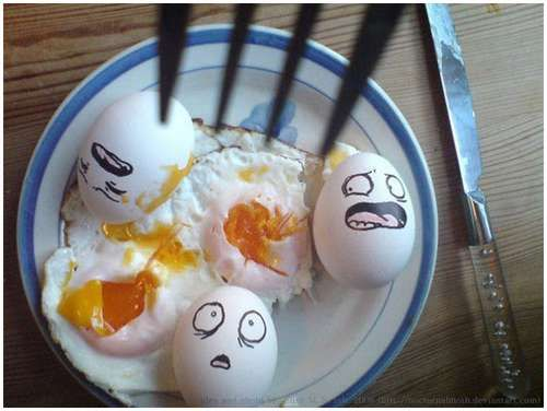 Funny eggs (21 pics)
