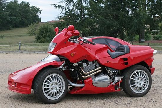 Motorcycle sidecar by Francois Knorreck (7 pics)