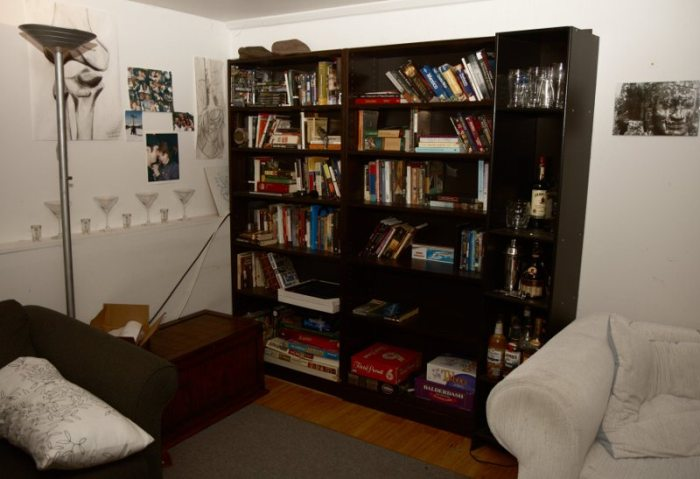 DIY secret bookcase-door (6 pics)