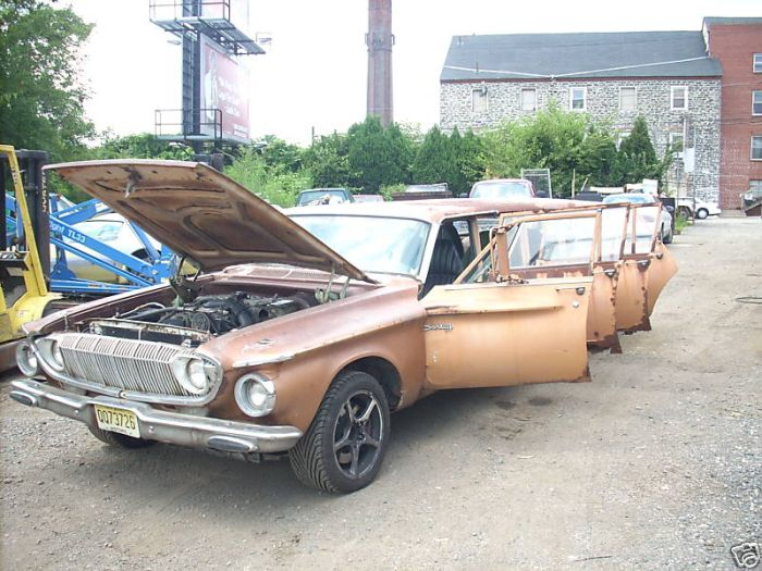 Nunrunner - unique 1962 Dodge Dart limowagon (15 pics)