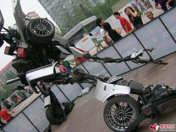 Home-made VW Passat Transformer found in Beijing (12 pics)