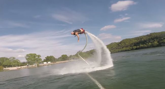 GoPro Jet Boot Fail Video