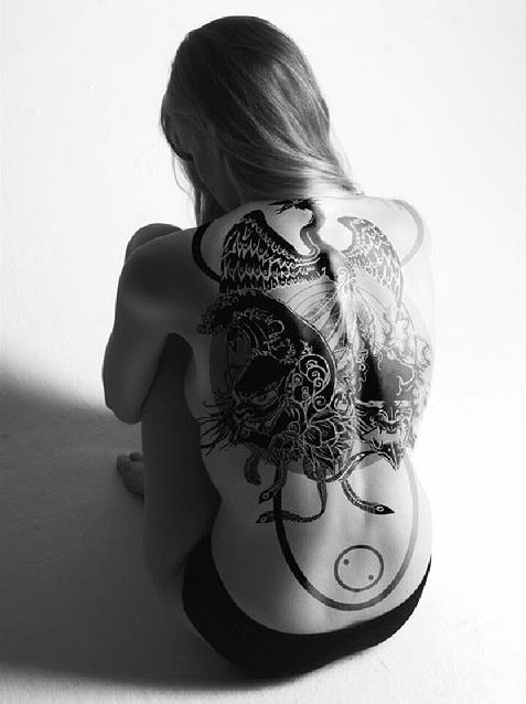 22 Amazing Back Tattoos