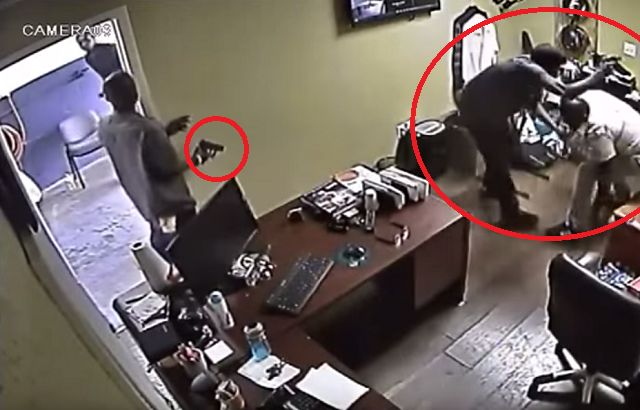 Business Owner Disarms, Pistol Whips, And Shoots Robber!