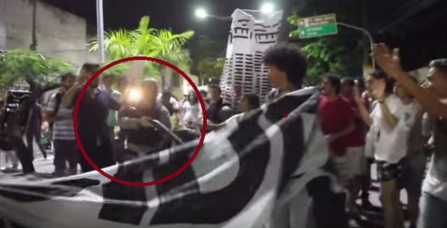 You Wont Believe Why This Brazilian Cop Shot Into The Crowd
