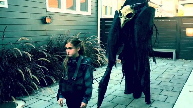 Was This The Scariest Father & Daughter Costume This Past Halloween?