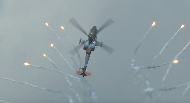 Watch This Apache Pull Off An Amazing Barrel Roll Mid-Air
