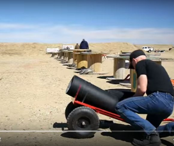 Weapon of Mass Destruction = The Bowling Ball Cannon!