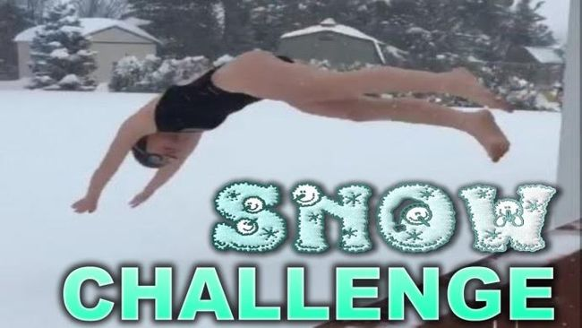 The Snow Challenge Is Just - Ridiculous