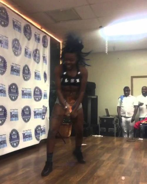 Crazy Girl Sets Crotch On Fire While Dancing