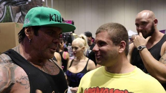 Body Builder  Meets Troll And Smacks Him Around