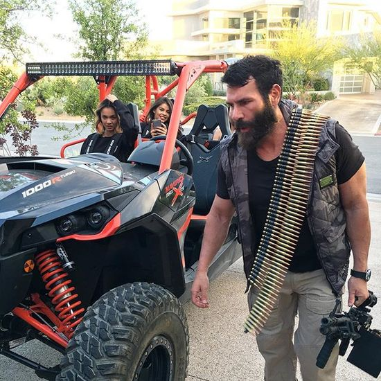 "Dan Bilzerian pulls off some ""Epic Red Neck"""