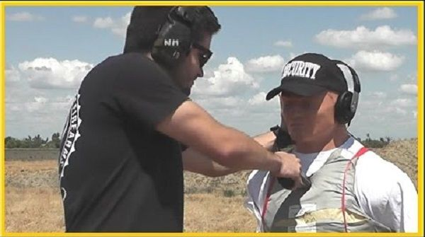 What Is It Like Being Shot, While Wearing Kevlar Body Armor?
