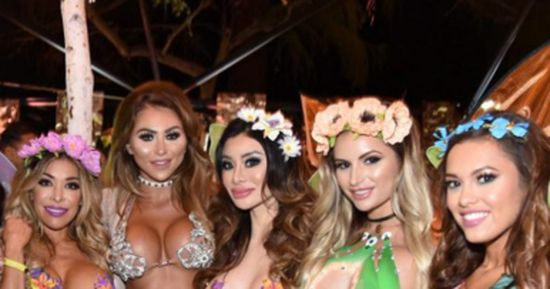 Playboy's Midsummer Night's Dream Party Sure Looked Fun (15 pics)