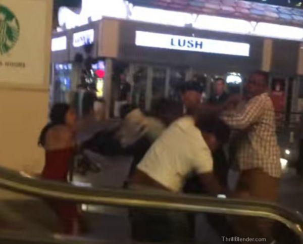 Shocking Wild Las Vegas Strip Fight!