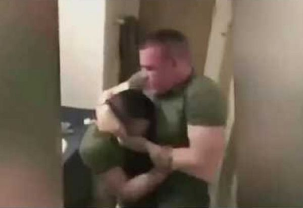 Two Marines Come To Blows After  Bullying