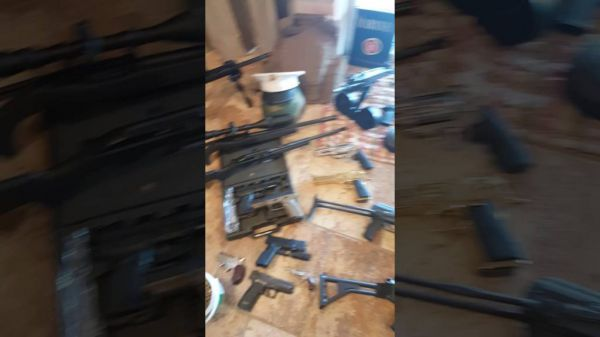 "Self Proclaimed ""Black Rambo"" Shows Off His Massive Gun Collection"