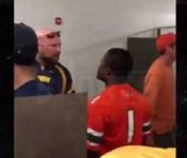 """Bowl Game Bathroom Fight: """"I Used To F**k Guys Like You In Prison!"""""""