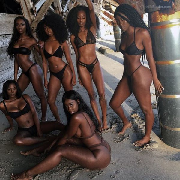 Brown Sugar Overload Courtesy Of Model Bria Myles