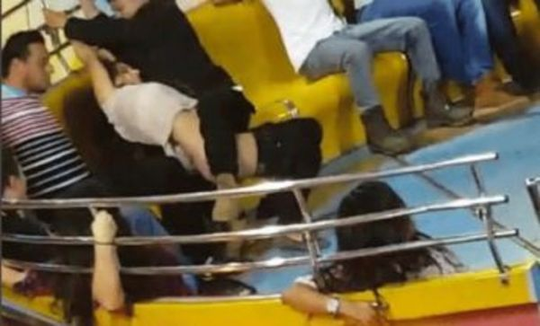 Woman Can't Keep Her Pants Up While On Ride In Costa Rica