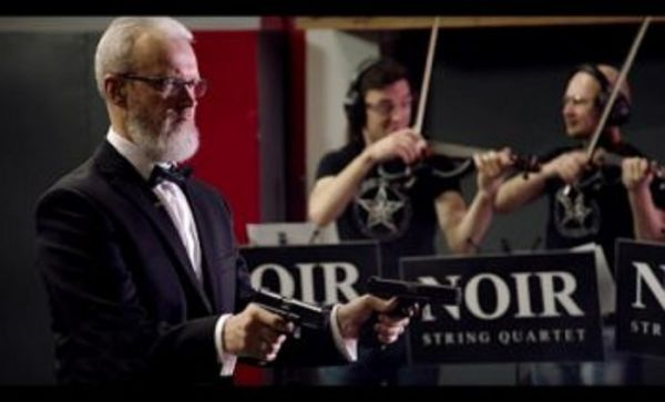 Classical Music: Russian shooter performs Strauss with Guns
