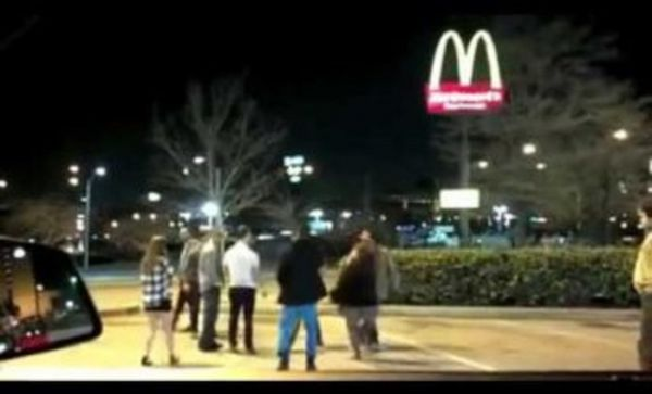 After Midnight McDonald's Parking Lot Serves Up Some McAsswhippins