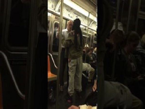 Mr. Clean VS Homie On The Subway!