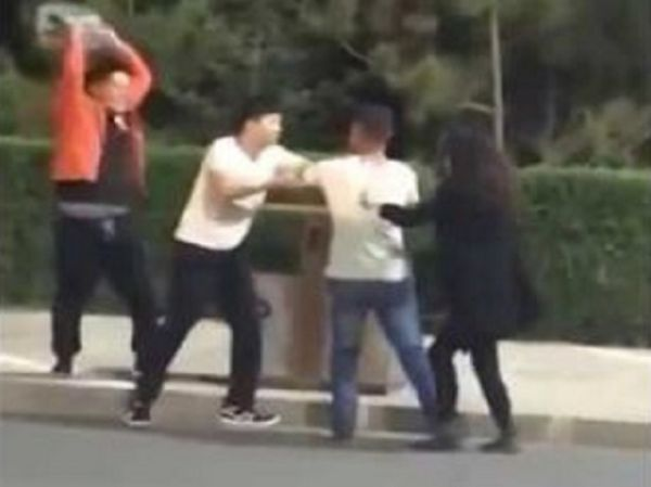 Dude Accidentally KO's Girl With Case Of Beer