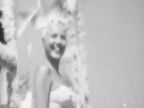 Raw Footage Of 1950's International Miss Universe Contest
