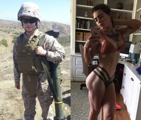 Shredded Fitness Fighter Caitlin (38 Pics)