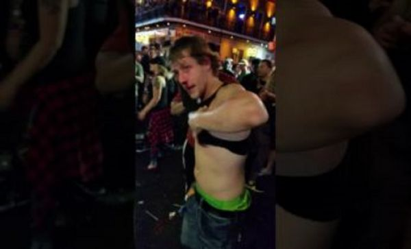 Kid Survives Beat Down During Mardi Gras Brawl