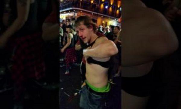 Kid Survives Beat Down During Mardi Gras Brawl
