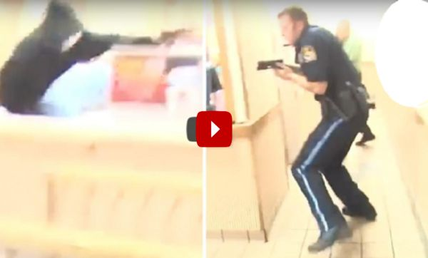 Horrific Moment 'Cops' Sound Man Was Killed During a Shootout