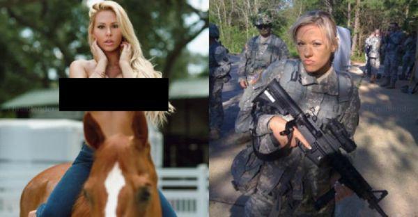 Army National Guard Babe (22 pics)