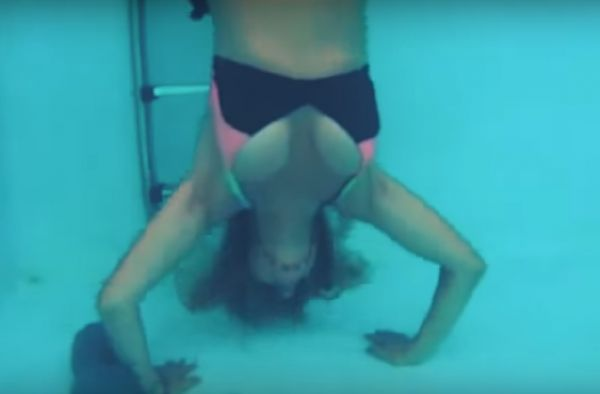 Underwater Workouts Are The Next Big Thing ;)