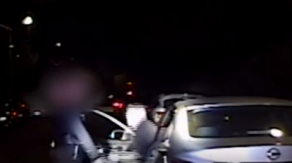 Crazy Footage Shows Cop Shot By Gang Member