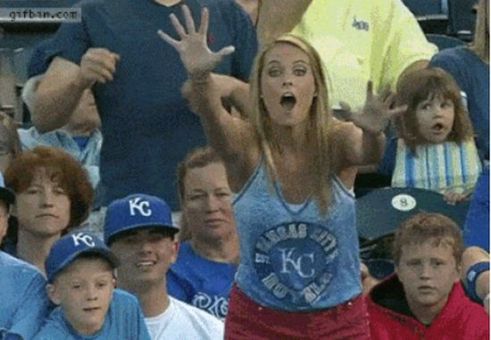 Please Don't Steal Foul Balls From Kids (15 GIFs)