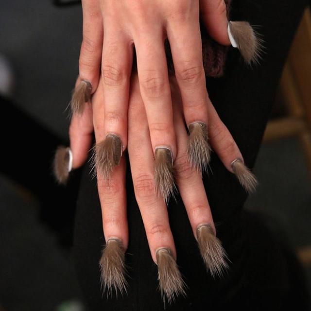 Furry Nails (20 pics)