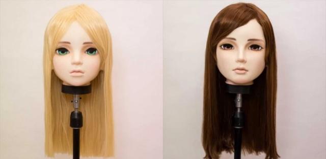 Hyper-detailed Anime Girl Masks (10 pics)