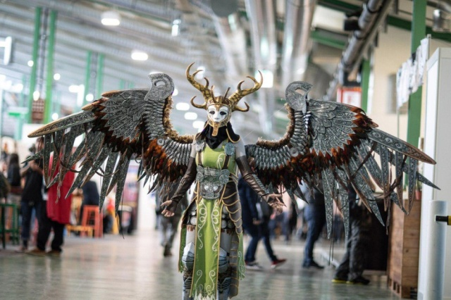 Cosplay Valkyrie From God Of War (11 pics)