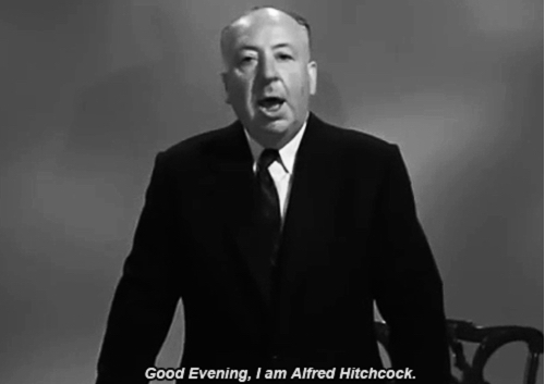 A Tribute To Alfred Hitchcock (17 gifs)