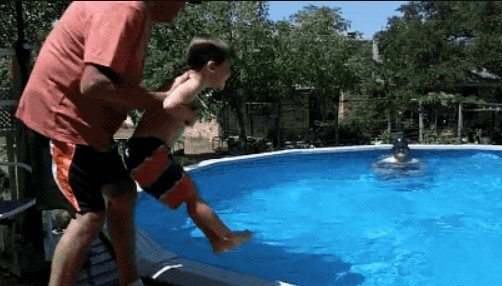 When Grandkids Stay With Grandparents... (20 gifs)