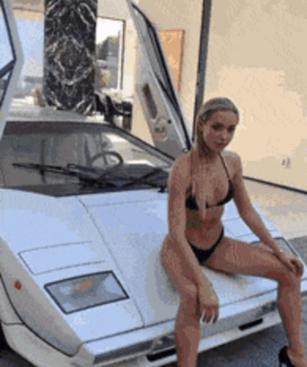 Lambo Or The Girls...Which Would You Choose? (Pics & Gifs)