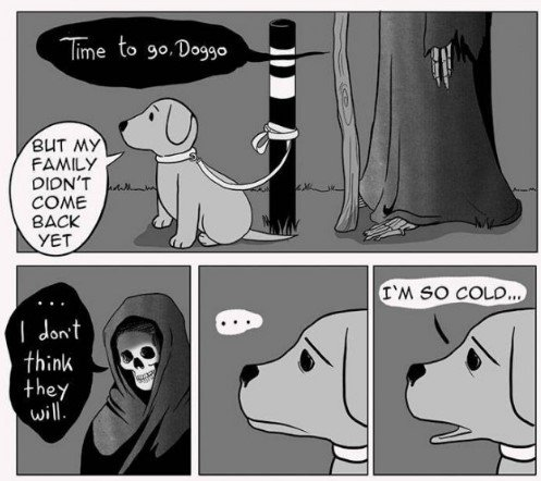 Comics About Death And Pets (14 pics)