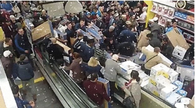 Black Friday Insanity (15 gifs)