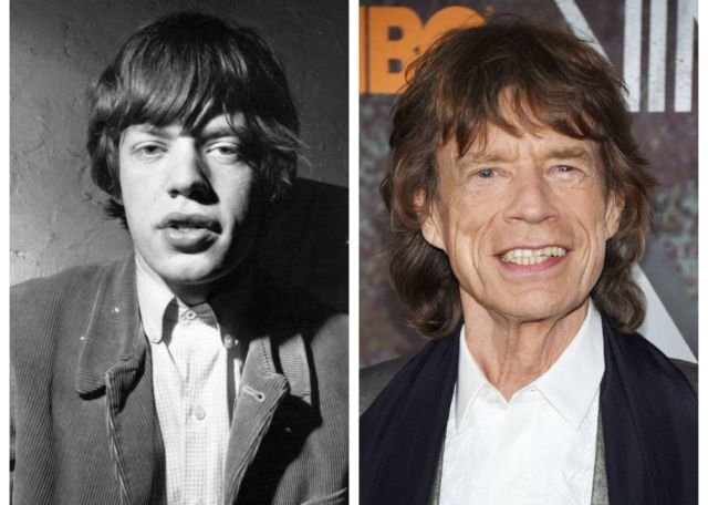 Music Celebrities: Then And Now (40 pics)